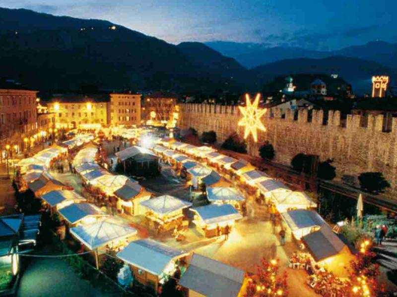 Post title - Christmas Market Trento Trient Trent Trentino South Tirol - tourism
